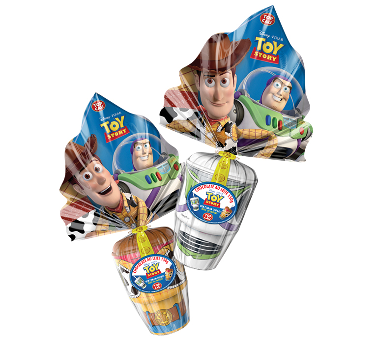 Ovo Toy Story - 150g Top Cau