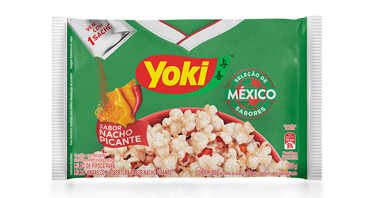 Pipoca Nacho Picante México Yoki