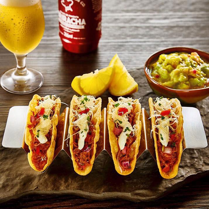 Pork Tacos Restaurante América