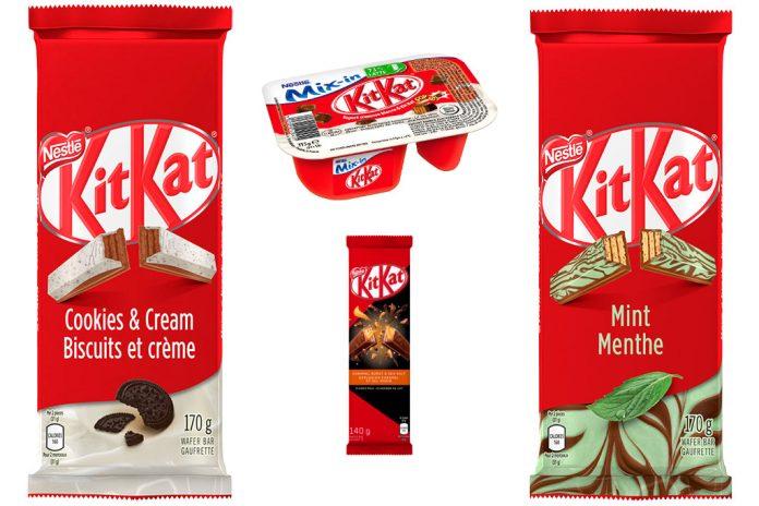 Sabores de Kit Kat Pelo Mundo