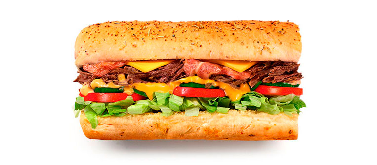 Sanduíche Beef Bacon Chipotle Subway