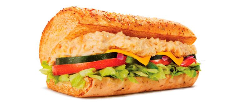 Sanduíche Frango com Requeijão Subway