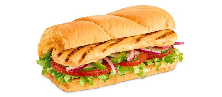 Sanduíche Frango Subway
