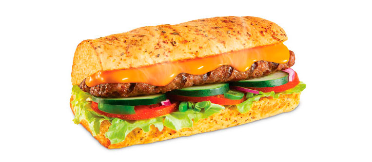 Sanduíche Steak Cheddar Cremoso Subway