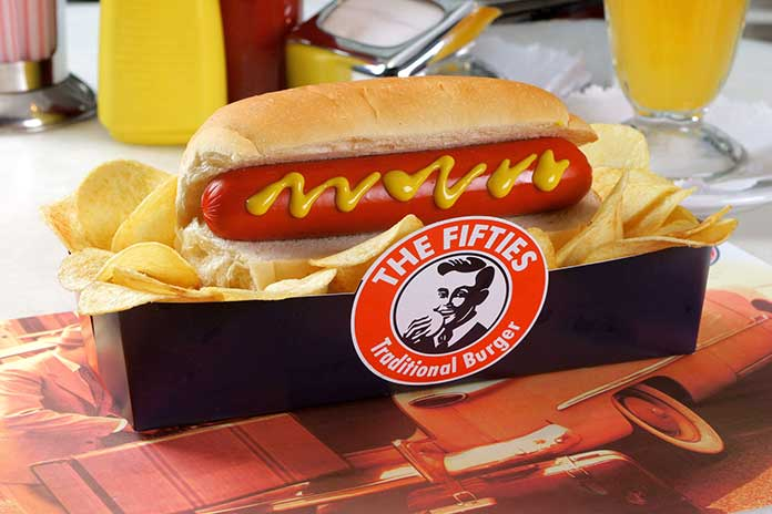 The Fifties Hot Dog