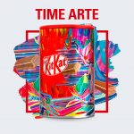 Lata KitKat Arte