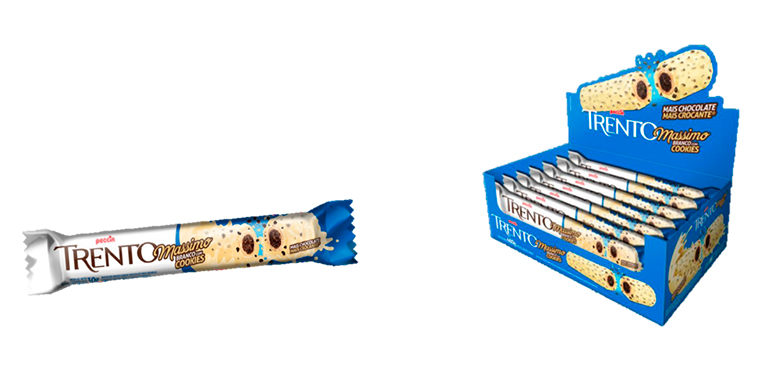 Trento Massimo Branco com Cookies Peccin