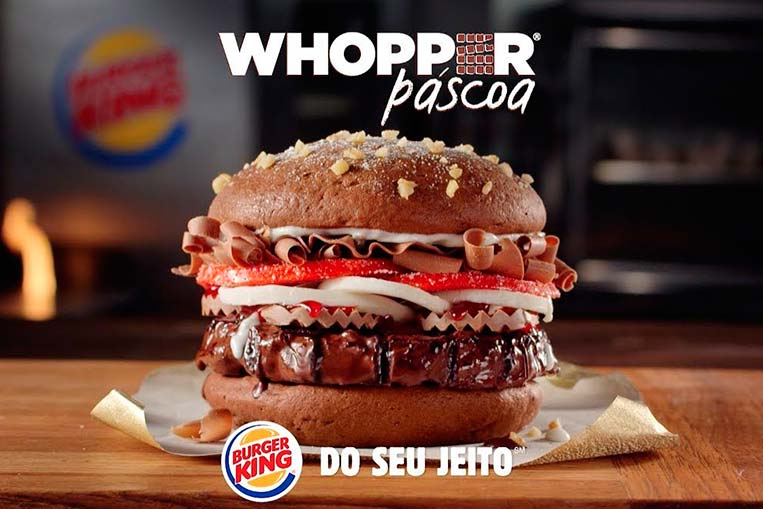 Whopper Páscoa Burger King
