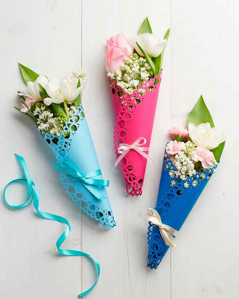 Buquê de Flores Dia das Mães