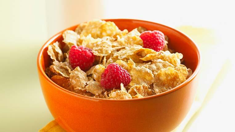 Cereal e Frutas Dia das Mães