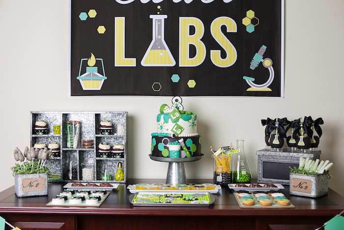 Ciência - Tema Festa de 15 Anos para Menino