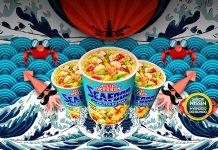 Cup Noodles Frutos do Mar