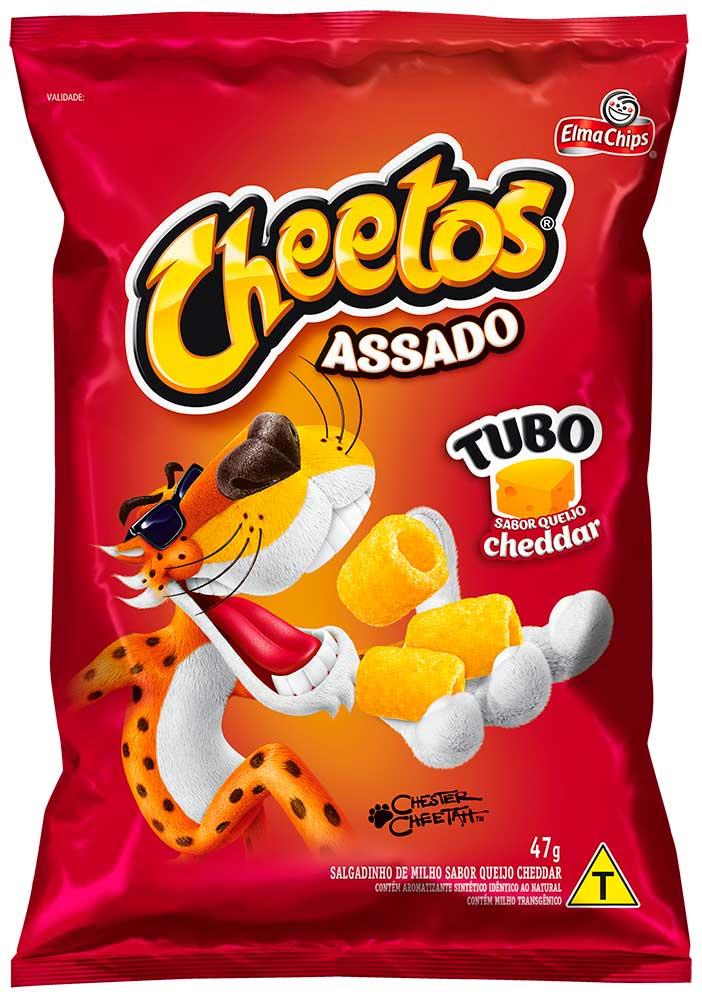 Embalagem Cheetos Tubo