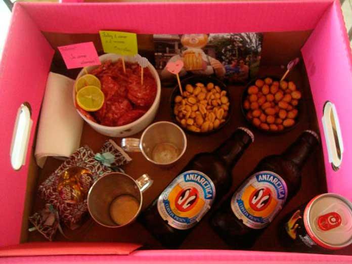 Festa na Caixa com Frios