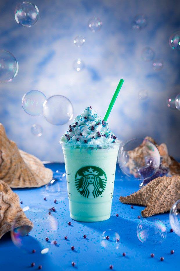 Frappuccino Encantadora dos Mares detalhes