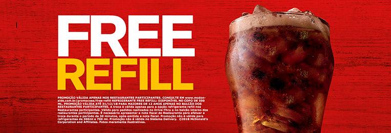 Free Refill McDonald's