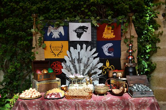 Game of Thrones - Tema Festa de 15 Anos para Menino