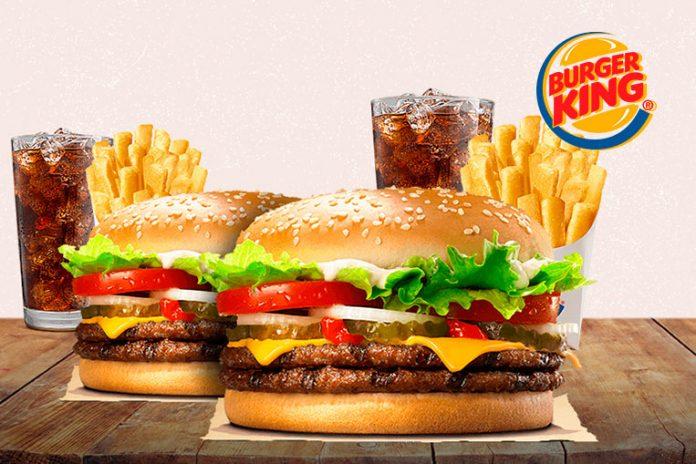 Promoção Burger King