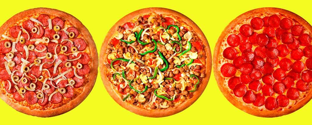 Sabores de Pizza Pizza Hut
