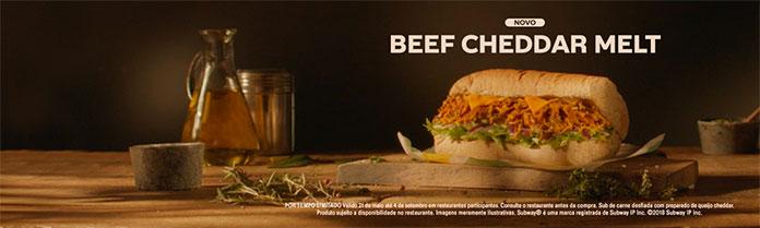 Beef Cheddar Melt detalhe