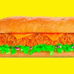 Beef Cheddar Melt Subway
