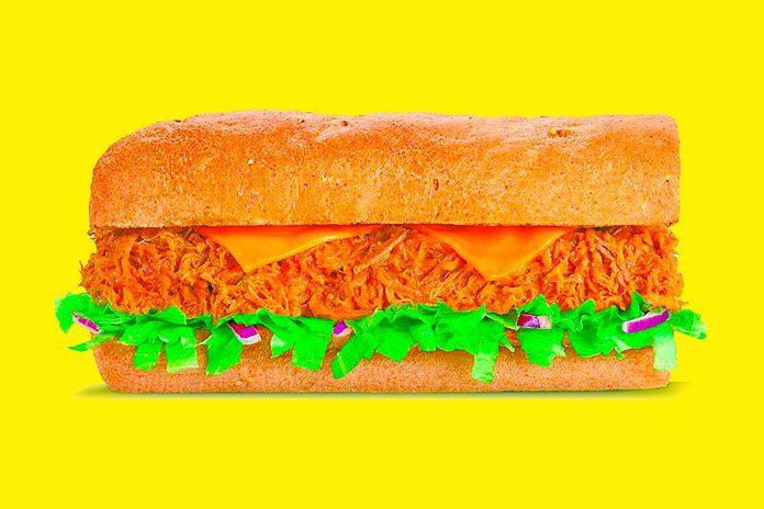 Beef Cheddar Melt Subway