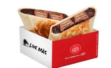Burrito de Kit Kat Taco Bell