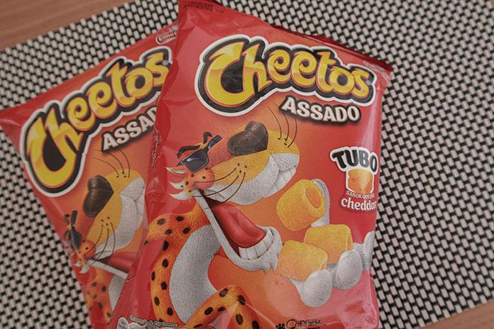 Embalagens Cheetos Tubo