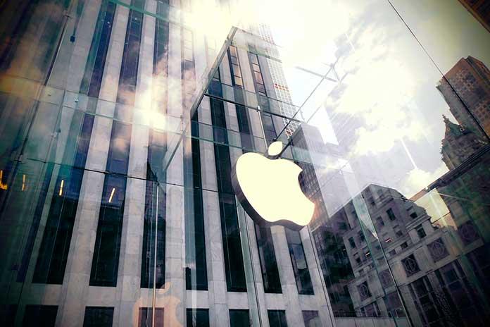 Apple Store em Nova Iorque, nos EUA