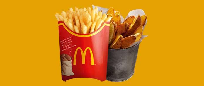 McDonald's Acompanhamentos