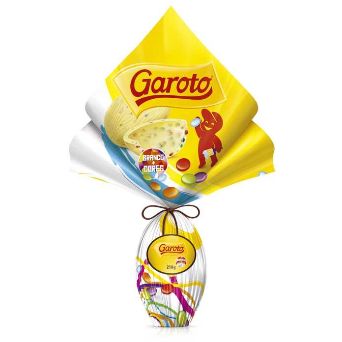 Ovo Garoto Cores (210g)