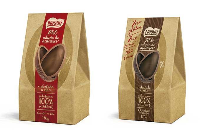 Ovos Classic Zero Açúcar e Zero Lactose e Glúten (170g)