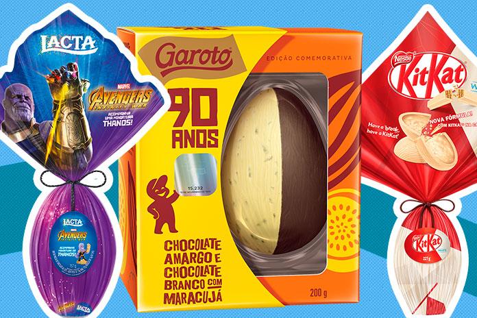 Top Ovos De Páscoa 2019 Cacau Show Arcor Nestlé Garoto Lacta
