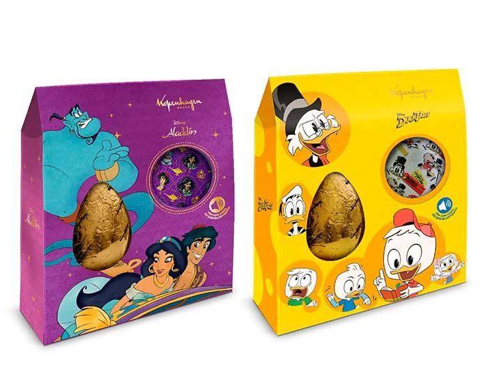 Ovos Infantis Aladdin e Ducktales (150g)