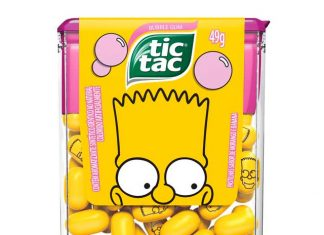 Tic Tac Os Simpsons