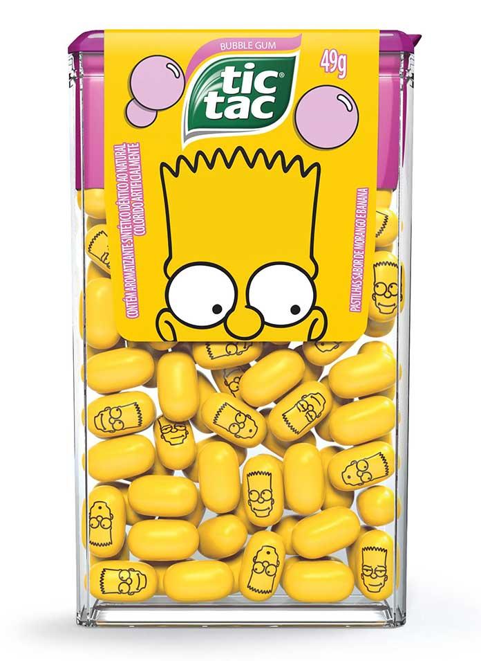 Tic Tac Bart Os Simpsons