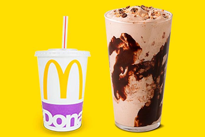 Bebidas e Sobremesas McDonald's x Bebidas e Sobremesas Burger King