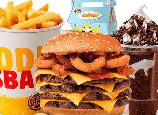Burger King Preços