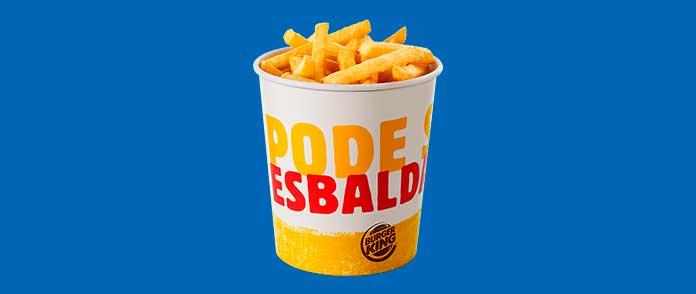 Burger King Preços Acompanhamentos