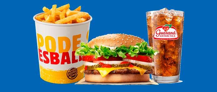 Burger King Preços Combos