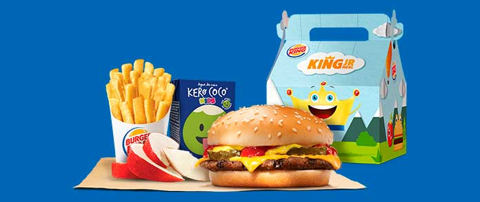 Burger King Preços Extras