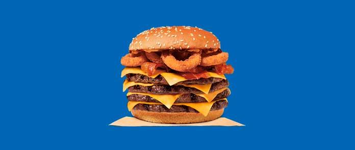 Burger King Preços Sanduíches