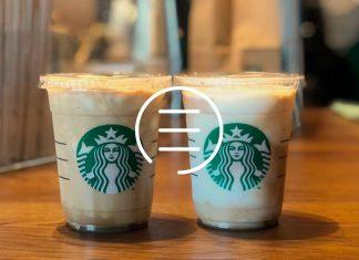 Cardápio Starbucks com Preços