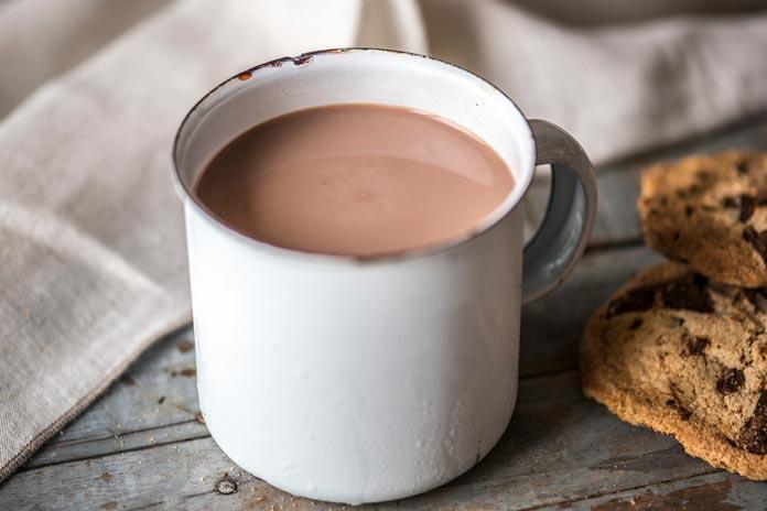 Chocolate Quente no Micro-ondas