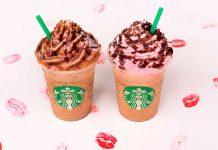 Frappuccinos Starbucks Dia dos Namorados 2018
