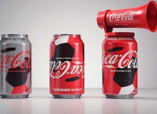 Latas Torcedoras Coca-Cola Copa do Mundo 2018