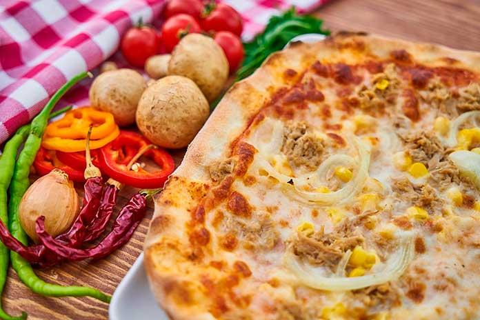 Sabores de Pizza de Frango
