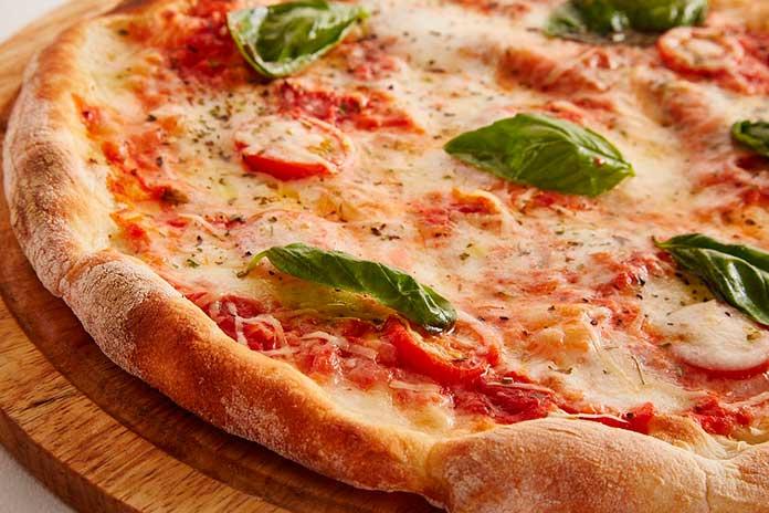 Sabores de Pizza de Queijo