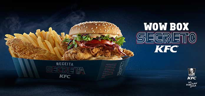 ​​Wow Box Secreto KFC
