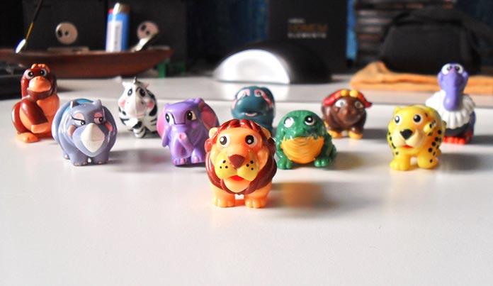 Animaizinhos Kinder Ovo